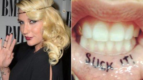 tatuaje mal eleccion del lugar kesha