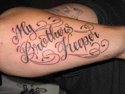 letras cursivas tatuaje