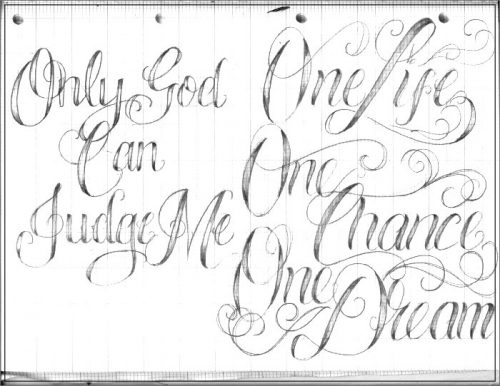 letras para tatuajes antiguas