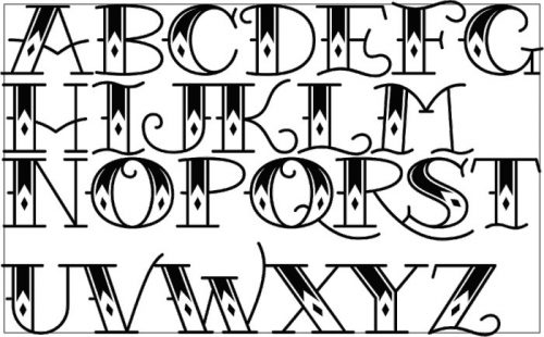 letras para tatuajes arameo