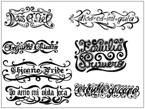 letras para tatuajes bautista