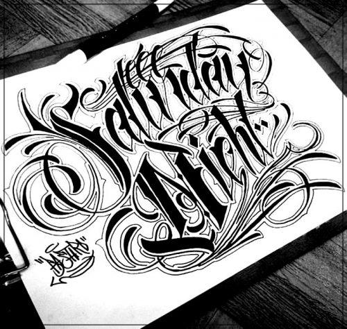 letras para tatuajes chicanas