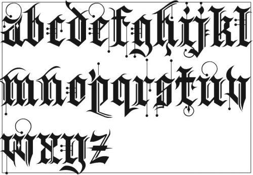 letras para tatuajes con nombres