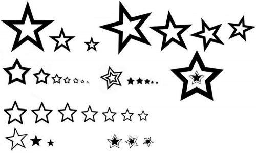 star-tattoo-template-0