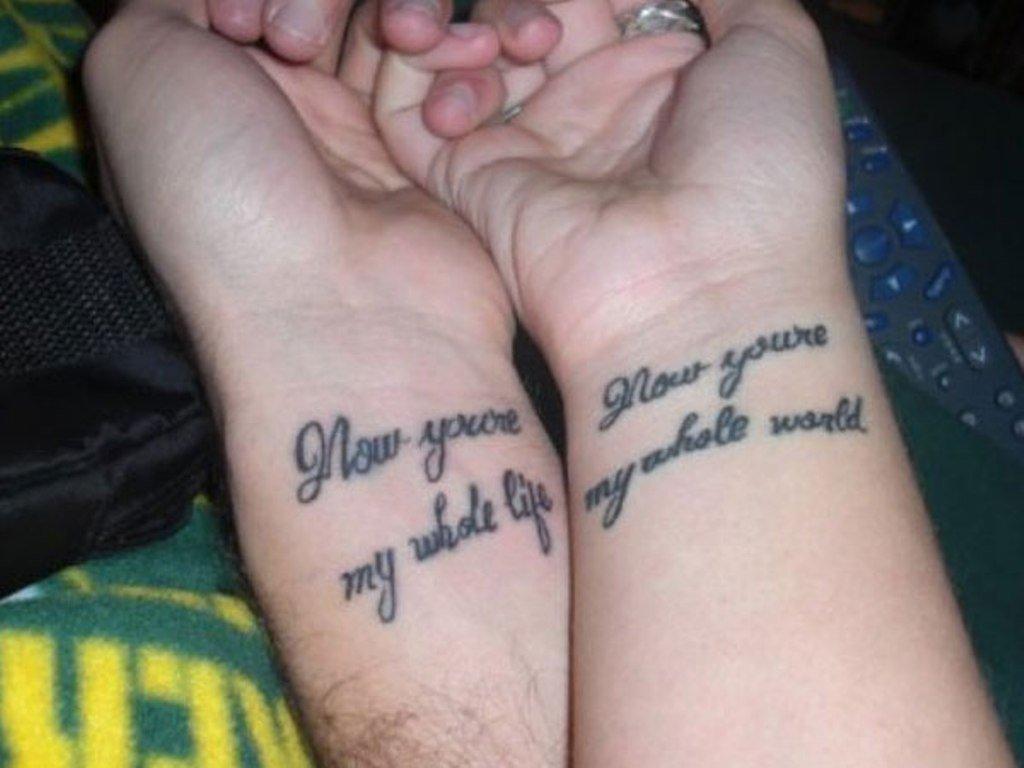 Tatuajes Para Parejas 46 Diseños Para Demostrar El Amor