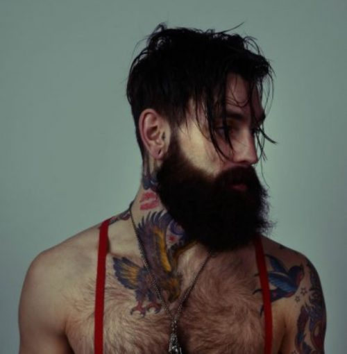 tatuaje marca de beso
