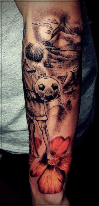 tatuajes con messi