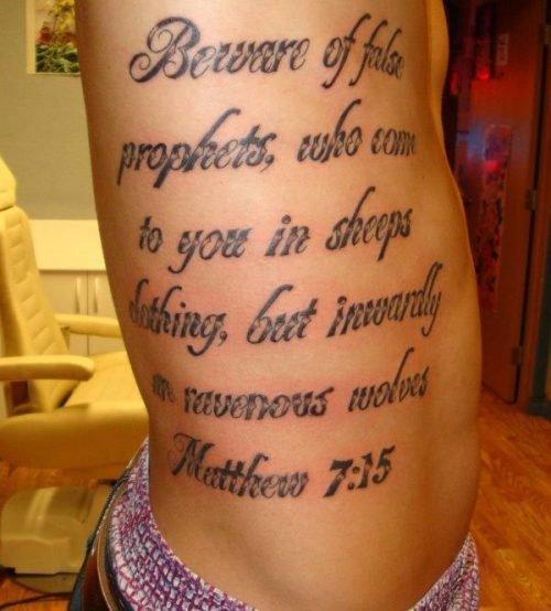 tatuajes frases religiosas