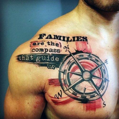 frase para tatuarse un hombre que ama la familia