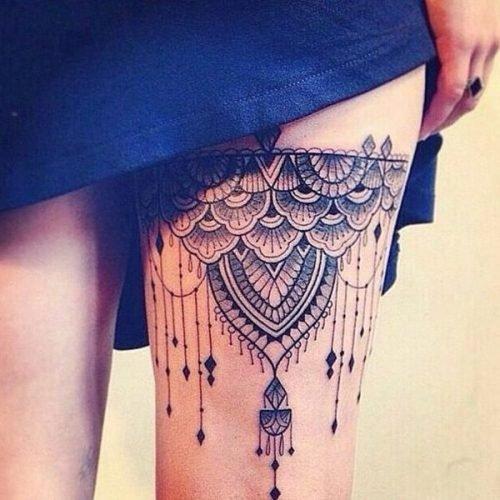 tatoo para piernas señoras