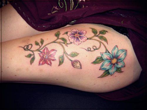 tatuajes en la pierna mujeres tumblr