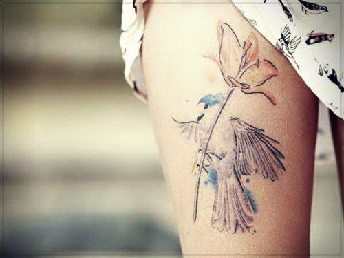 tatuajes para mujeres pierna tobillo