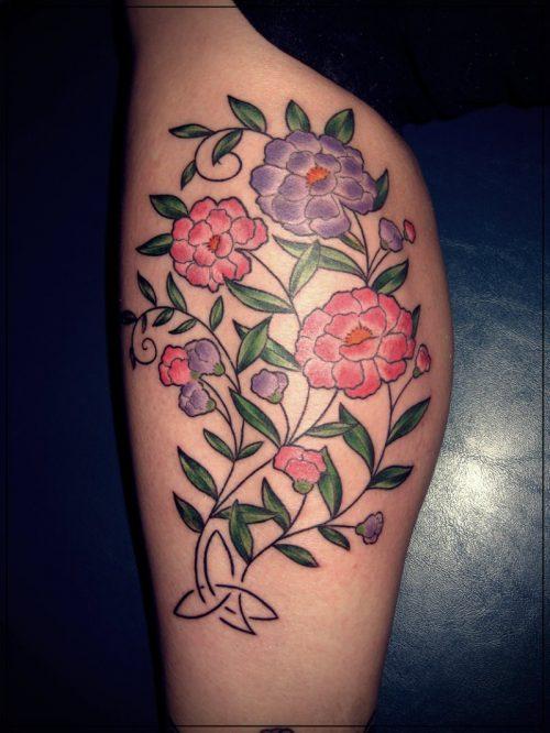 tatuajes para pierna mujer