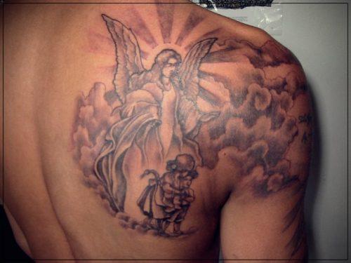 tatuajes para hombres de hombro