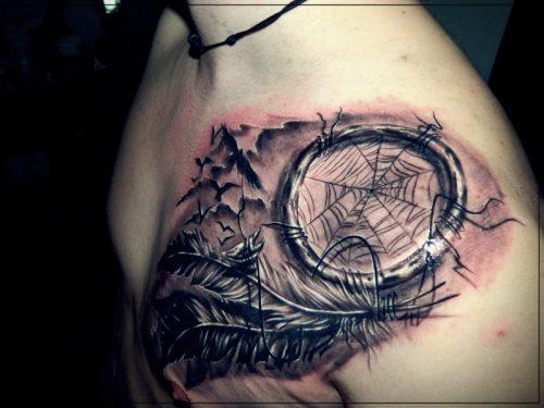 tatuajes para hombres en el hombro estrellas