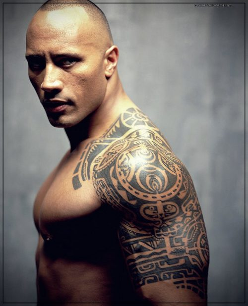 tatuajes para hombres en el hombro tribales