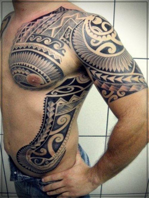 tatuajes para hombres hombro brazo