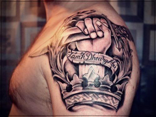 tatuajes para hombres hombro espalda