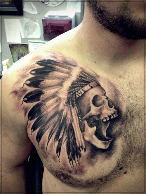 tatuajes para hombres pequeños hombro