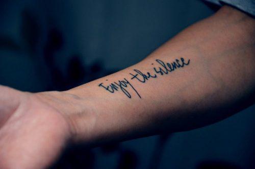 Tatuajes en el antebrazo 5