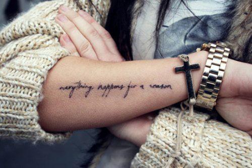 Tatuajes en el antebrazo mujer