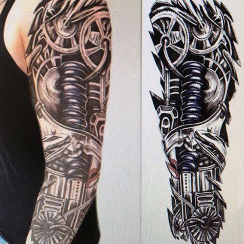 tatuajes 3d para hombres 3