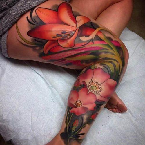 tatuajes 3d para mujeres 3