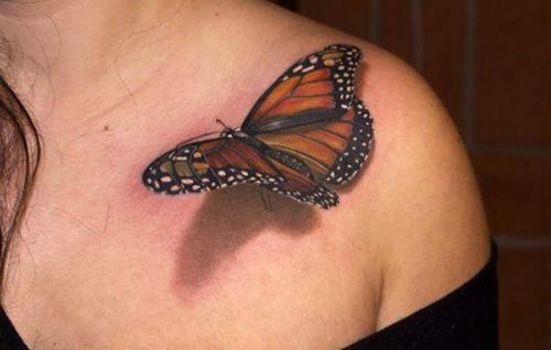 tatuajes 3d para mujeres