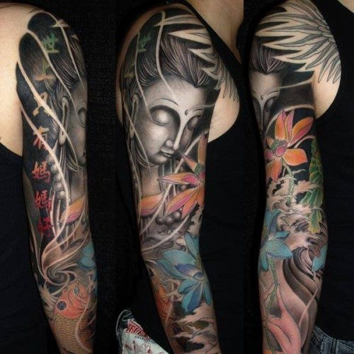 tatuajes japones mujeres