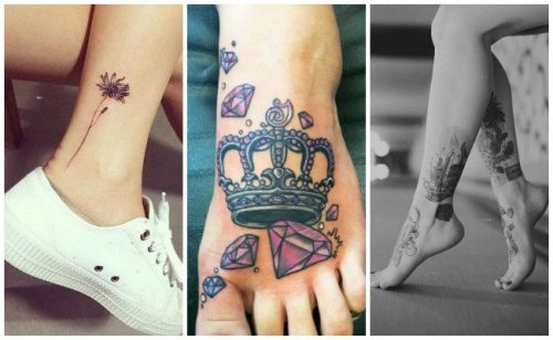 tatuajes japones tobillos