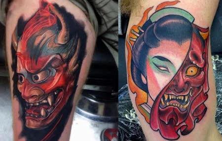 tatuajes japoneses en el hombre