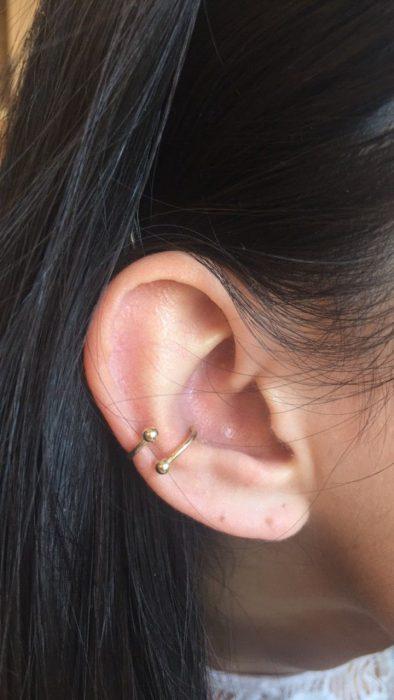 Piercing en oreja 4