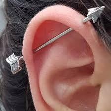 Piercing en oreja 7