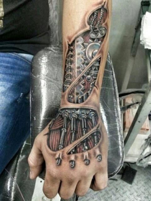 Tatuajes en el brazo para hombres 4